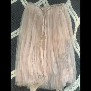 NWT FRANCESCA COLLECTION TULLE SKIRT